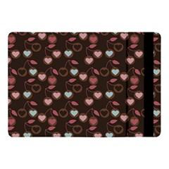 Heart Cherries Brown Apple Ipad Pro 10 5   Flip Case by snowwhitegirl