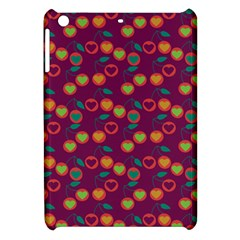 Heart Cherries Magenta Apple Ipad Mini Hardshell Case by snowwhitegirl