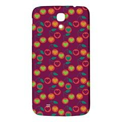 Heart Cherries Magenta Samsung Galaxy Mega I9200 Hardshell Back Case by snowwhitegirl