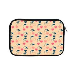 Heart Cherries Cream Apple Ipad Mini Zipper Cases by snowwhitegirl