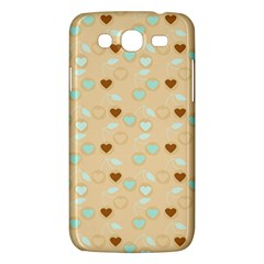 Beige Heart Cherries Samsung Galaxy Mega 5 8 I9152 Hardshell Case  by snowwhitegirl