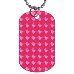 Punk Heart Pink Dog Tag (two Sides) by snowwhitegirl