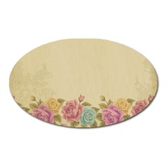 Shabby Country Oval Magnet by 8fugoso