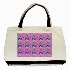 Punk Baby Pink Basic Tote Bag by snowwhitegirl