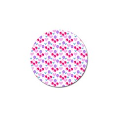 Pastel Cherries Golf Ball Marker (10 Pack) by snowwhitegirl