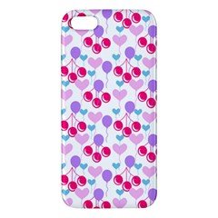 Pastel Cherries Iphone 5s/ Se Premium Hardshell Case by snowwhitegirl