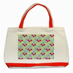 Birthday Cherries Classic Tote Bag (red) by snowwhitegirl
