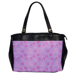 Lilac Dress Office Handbags by snowwhitegirl