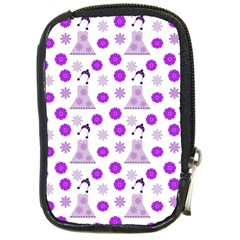 Lilac Dress On White Compact Camera Cases by snowwhitegirl