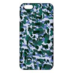 Blue Camo Iphone 6 Plus/6s Plus Tpu Case by snowwhitegirl