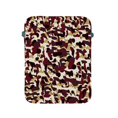 Red Camo Apple Ipad 2/3/4 Protective Soft Cases by snowwhitegirl