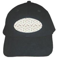 Little Winter Hats Blue Black Cap by snowwhitegirl