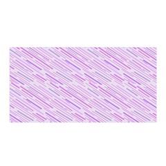 Silly Stripes Lilac Satin Wrap by snowwhitegirl