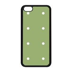 Olive Dots Apple Iphone 5c Seamless Case (black) by snowwhitegirl