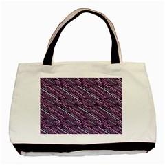 Silly Stripes Basic Tote Bag by snowwhitegirl
