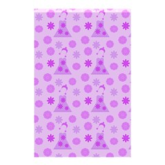Purple Dress Shower Curtain 48  X 72  (small)  by snowwhitegirl