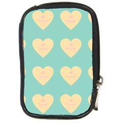 Teal Cupcakes Compact Camera Cases by snowwhitegirl