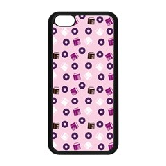 Pink Donuts Apple Iphone 5c Seamless Case (black)