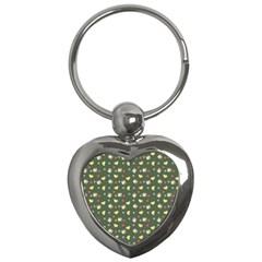 Green Milk Hearts Key Chains (heart)  by snowwhitegirl