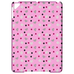 Pink Milk Hearts Apple Ipad Pro 9 7   Hardshell Case by snowwhitegirl