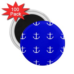Royal Anchors 2 25  Magnets (100 Pack)  by snowwhitegirl