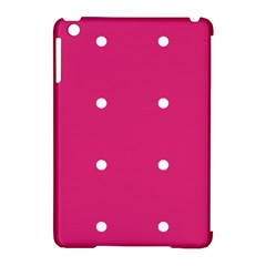 Small Pink Dot Apple Ipad Mini Hardshell Case (compatible With Smart Cover) by snowwhitegirl