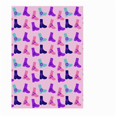 Candy Boots Large Garden Flag (two Sides) by snowwhitegirl