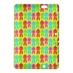 Colorful Robots Kindle Fire Hdx 8 9  Hardshell Case by snowwhitegirl