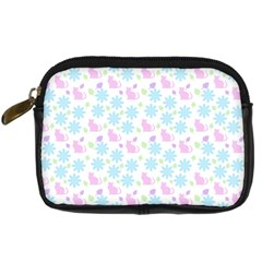 Cats And Flowers Digital Camera Cases by snowwhitegirl