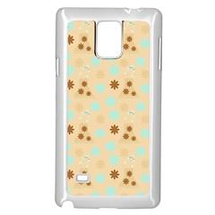 Beige Dress Samsung Galaxy Note 4 Case (white) by snowwhitegirl