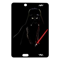 Darth Vader Cat Amazon Kindle Fire Hd (2013) Hardshell Case by Valentinaart