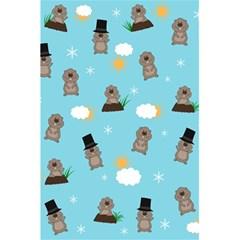 Groundhog Day Pattern 5 5  X 8 5  Notebooks by Valentinaart