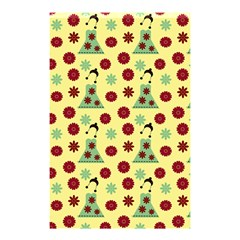 Green Dress Yellow Shower Curtain 48  X 72  (small)  by snowwhitegirl