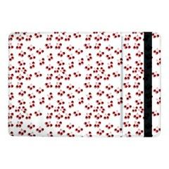 Red Cherries Samsung Galaxy Tab Pro 10 1  Flip Case by snowwhitegirl