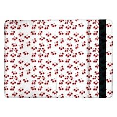 Red Cherries Samsung Galaxy Tab Pro 12 2  Flip Case by snowwhitegirl