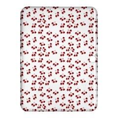 Red Cherries Samsung Galaxy Tab 4 (10 1 ) Hardshell Case  by snowwhitegirl