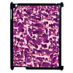 Pink Camo Apple Ipad 2 Case (black) by snowwhitegirl