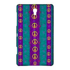 Peace Be With Us This Wonderful Year In True Love Samsung Galaxy Tab S (8 4 ) Hardshell Case  by pepitasart