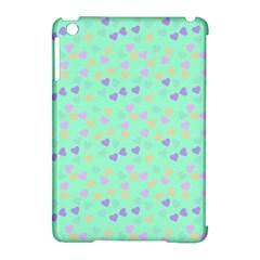 Minty Hearts Apple Ipad Mini Hardshell Case (compatible With Smart Cover) by snowwhitegirl