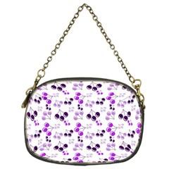 Purple Cherries Chain Purses (one Side)  by snowwhitegirl