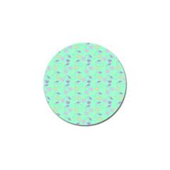 Mint Heart Cherries Golf Ball Marker (10 Pack) by snowwhitegirl