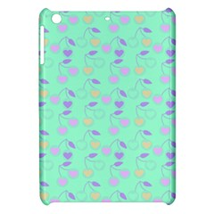Mint Heart Cherries Apple Ipad Mini Hardshell Case by snowwhitegirl