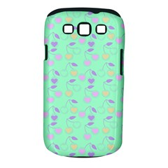 Mint Heart Cherries Samsung Galaxy S Iii Classic Hardshell Case (pc+silicone) by snowwhitegirl