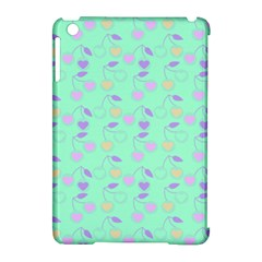Mint Heart Cherries Apple Ipad Mini Hardshell Case (compatible With Smart Cover) by snowwhitegirl