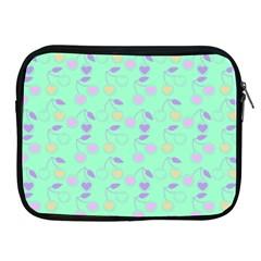 Mint Heart Cherries Apple Ipad 2/3/4 Zipper Cases by snowwhitegirl