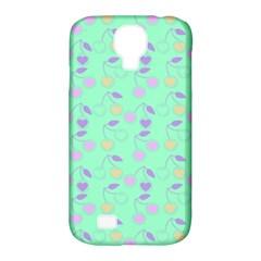 Mint Heart Cherries Samsung Galaxy S4 Classic Hardshell Case (pc+silicone) by snowwhitegirl