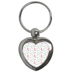 Candy Cherries Key Chains (heart)  by snowwhitegirl