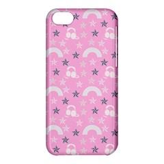 Music Star Pink Apple Iphone 5c Hardshell Case by snowwhitegirl