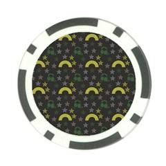 Music Star Dark Grey Poker Chip Card Guard (10 Pack) by snowwhitegirl