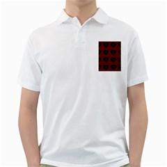 Cupcake Blood Red Black Golf Shirts